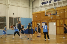 Открытое Первенство по баскетболу, посвященного 20-летию образования «Дворца спорта «Норд». (среди команд девушек)._2