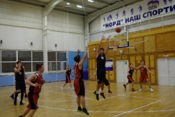 Открытое Первенство по баскетболу,  посвященного 20-летию образования «Дворца спорта «Норд»_1