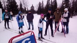 Окружные соревнования по лыжным гонкам_1